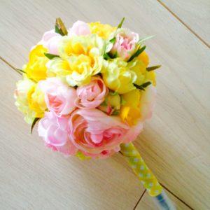 まあるい 花ペン アーティフィシャルフラワー お花ペン