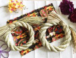 しめ縄の紹介 飾る時期 終う時期 片づける時期 しめ縄の飾る日 アーティフィシャルフラワー