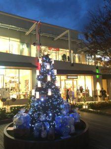 星ヶ丘テラス ブルークリスマス クリスマスツリー ヒンメリ 写真スポット フォトスポット
