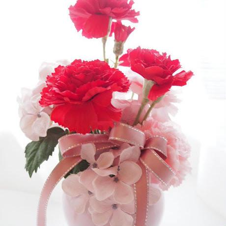 母の日プレゼント,送料無料,カーネーション,早割,枯れない花,造花,アーティフィシャルフラワー