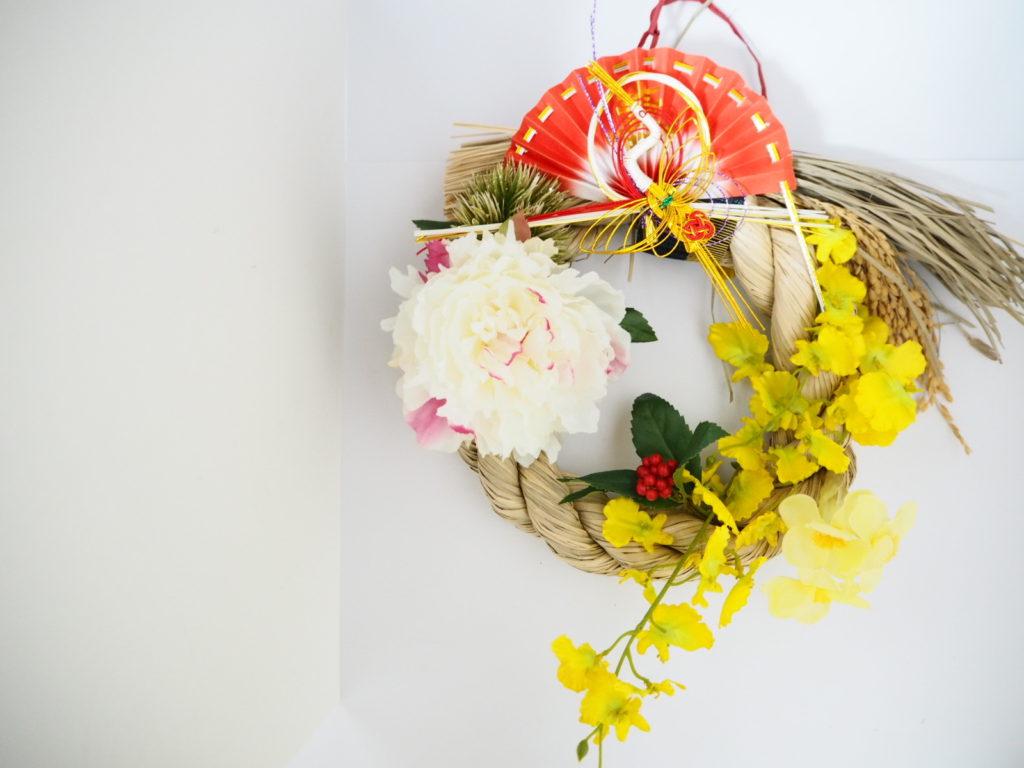 お正月,お正月花,しめ縄,松竹梅,アーティシャルフラワー,