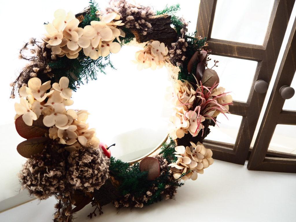 クリスマスリース,リース,飾り方,デュボンタン,花