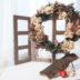 クリスマス,リース,ナチュラルリース,花,プリザーブドフラワー,毛糸,スギ,新潟,デュボンタン