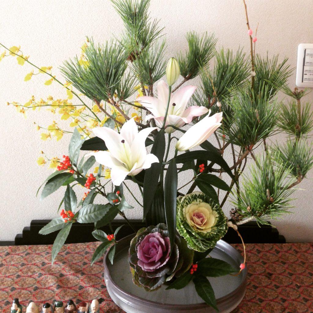 お正月花.花,正月,意味