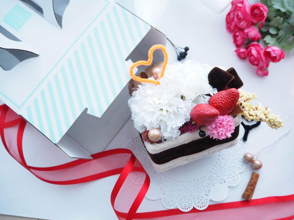 キッズレッスン,フラワーケーキ,お花のケーキ,子供の習い事,デュボンタン,ケーキ,新潟市,花育マスター,アーティフィシャルフラワー