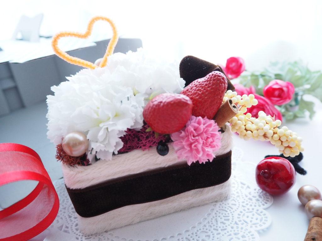 フラワーケー,.お花のケーキ,子供の習い事,キッズレッスン,フラワーアレンジメント,新潟市
