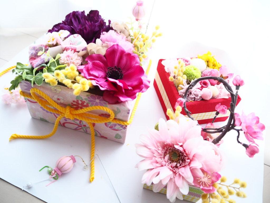 ひな祭り,桃の節句,3月3日,デュボンタン,インスタ映え,新潟,プリザーブドフラワー,アーティシャルフラワー