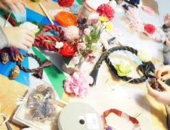 子供の習い事,習い事,花育,キッズレッスン.工作,フラワーアレンジメント,新潟市